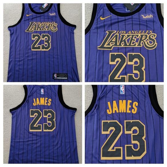 b66b1d356 LeBron James  23 Los Angeles Lakers Jersey Size 48